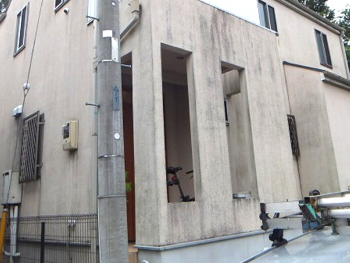 「千葉県船橋市の外壁塗装施工事例|I様邸」のBefore写真