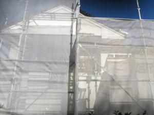 「付帯部分の塗装で家を際立たせる(神奈川県愛川町)」のBefore写真