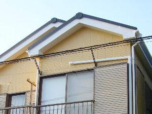 「グレーから淡いオレンジ色に塗り替えて明るい印象に(神奈川県厚木市)」のAfter写真