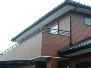 「築20年のタイル調サイディングの外壁塗装事例(神奈川県綾瀬市)」のAfter写真