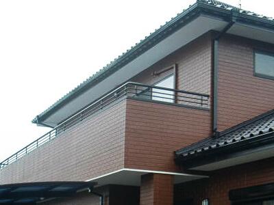 「築20年のタイル調サイディングの外壁塗装事例(東京都町田市)」のAfter写真