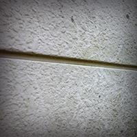 外壁の汚れの写真