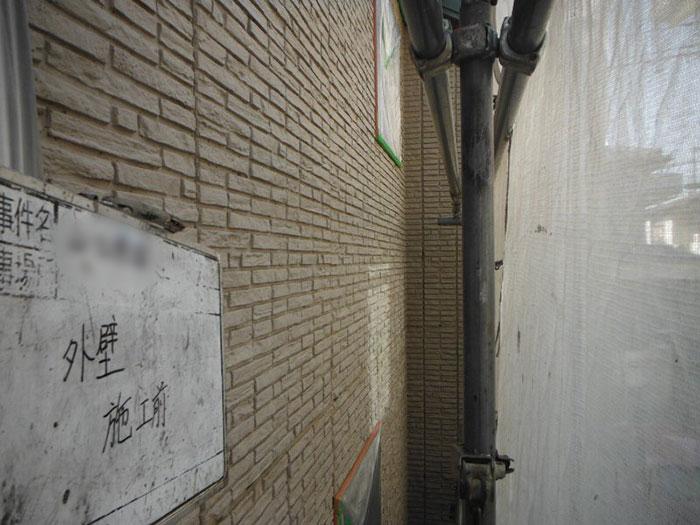 「全体的に汚れていた外壁を色鮮やかに(愛知県名古屋市)」のBefore写真