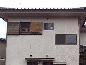 「古びた印象が新築のような明るい美観に生まれ変わりました(栃木県佐野市)」のBefore写真