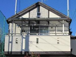 「付帯部分と屋根の塗装も同時に行いました(千葉県佐倉市)」のAfter写真