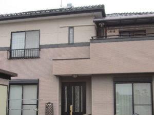 「ALC外壁の塗装事例(神奈川県座間市)」のBefore写真