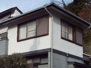 「立地環境を配慮し、防汚性に優れる塗料で塗装しました(神奈川県愛川町)」のBefore写真