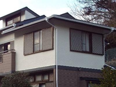 「立地環境を配慮し、防汚性に優れる塗料で塗装しました(東京都大田区)」のAfter写真