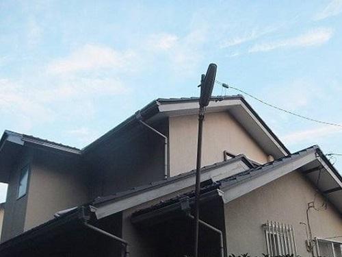 「黒色の付帯部分でメリハリをつけました(神奈川県横浜市)」のBefore写真