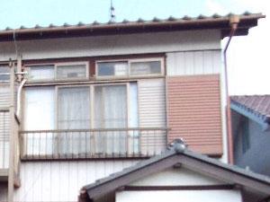 「白色と黒色のコントラストが美しい家に生まれ変わりました(神奈川県横浜市)」のBefore写真