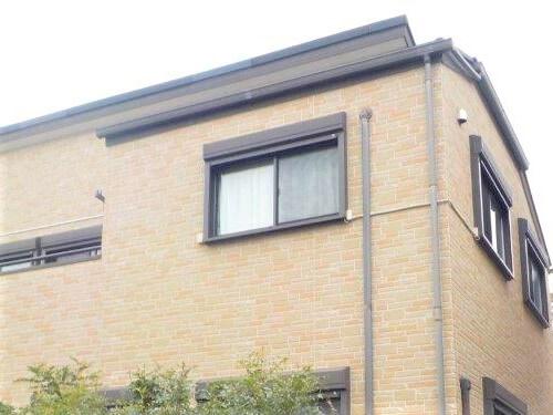 「レンガ調のサイディング外壁の施工事例(神奈川県横浜市)」のBefore写真