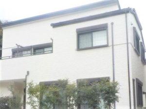 「レンガ調のサイディング外壁の施工事例(神奈川県横浜市)」のAfter写真