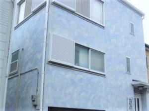 「淡い紫色へ変更し、かわいらしい印象へ(神奈川県海老名市)」のBefore写真
