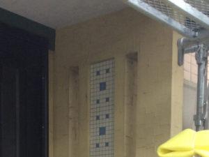 「モルタル+サイディング外壁の施工事例(神奈川県南足柄市)」のBefore写真