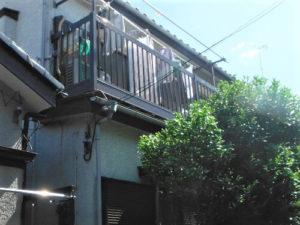 「モルタル塗り スタッコ仕上げの施工事例(神奈川県厚木市)」のBefore写真