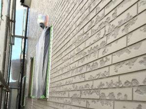「経年劣化のサイディングの外壁の塗装事例(神奈川県大磯町)」のBefore写真