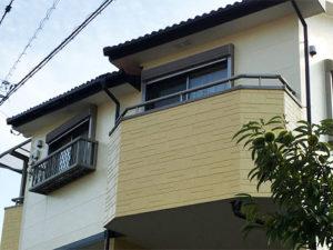 「コーキング劣化が激しかったサイディング外壁の事例(神奈川県愛川町)」のAfter写真