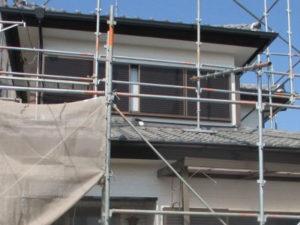 「付帯部分の色を変えて重厚感のある家に(神奈川県海老名市)」のAfter写真