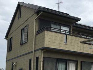 「大きなひび割れ(クラック)を見事に補修(神奈川県座間市)」のBefore写真
