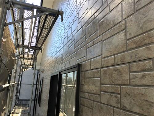 「外壁の色を変えない外壁塗装(東京都三鷹市)」のAfter写真