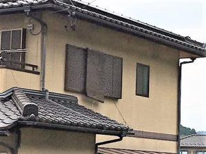 「高い防水性が必要なパネル製の外壁(神奈川県厚木市)」のBefore写真