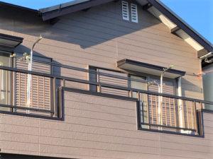 「濃いブラウンから淡いブラウンへの塗り替え(東京都大田区)」のAfter写真
