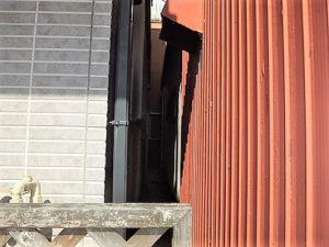 「近隣との距離が近い難しい施工(神奈川県綾瀬市)」のBefore写真