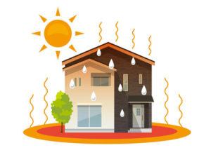 屋根の断熱材が暑さや寒さの原因?断熱塗装で断熱性能をアップしよう