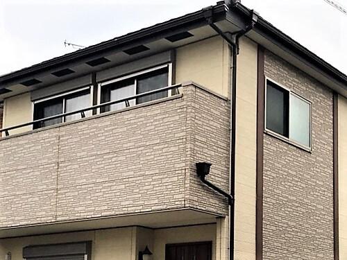 「くすんだ外壁にメリハリを(神奈川県伊勢原市)」のBefore写真