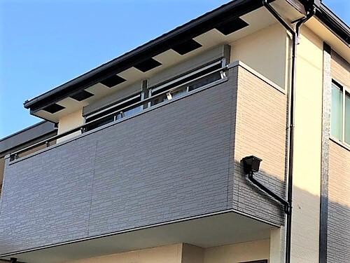 「くすんだ外壁にメリハリを(神奈川県伊勢原市)」のAfter写真