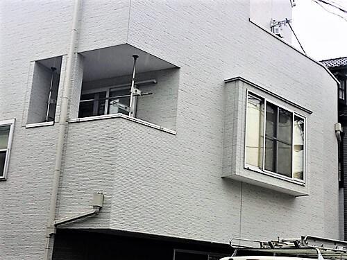 「既存デザインを活かしたクリア外壁塗装!若返ったように美しく!(神奈川県平塚市)」のBefore写真