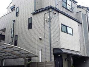 「劣化したコーキング部分を打ち替え・塗装で目立たなく!(神奈川県南足柄市)」のBefore写真
