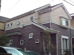 「思い切ったカラーチェンジで家の印象を一新!(神奈川県綾瀬市)」のBefore写真