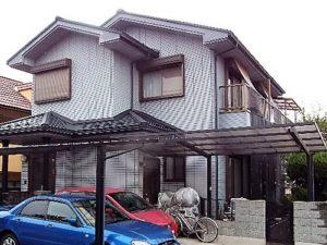 「爽やかな白のマイホームに変身!ベランダの防水もばっちり(神奈川県座間市)」のBefore写真