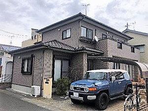 「外壁と一緒に付帯部分も塗り替え(神奈川県座間市)」のBefore写真