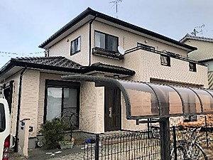 「外壁と一緒に付帯部分も塗り替え(神奈川県座間市)」のAfter写真