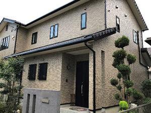 「高意匠サイディングはクリヤー塗料でお気に入りのデザインを活かした塗装を!(神奈川県座間市)」のAfter写真