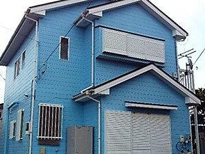 「汚れやすくなった外壁が落ち着いた大人な雰囲気に変身(神奈川県綾瀬市)」のBefore写真