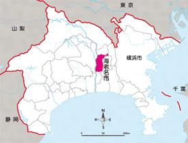 海老名市マップ