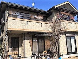 「劣化の見られるサイディング外壁も補修・塗装で新しい雰囲気に!(神奈川県厚木市)」のBefore写真