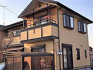 「劣化の見られるサイディング外壁も補修・塗装で新しい雰囲気に!(神奈川県厚木市)」のAfter写真