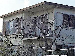 「クラックをカバーして築30年でも明るく輝く外壁に(神奈川県海老名市)」のBefore写真