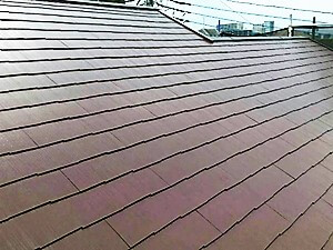 「劣化により色あせたスレート屋根を塗装でメンテナンス(神奈川県厚木市)」のAfter写真