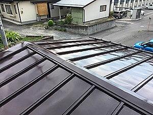「ていねいな下地処理と塗装で金属屋根が若返った事例(神奈川県綾瀬市)」のAfter写真