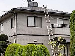 「太陽熱温水器の撤去後のメンテナンス!塗り替えで万全のK様邸(神奈川県逗子市)」のBefore写真