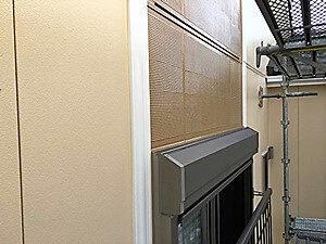 「黒ずみの目立つ外壁を一新!ツートンカラーのおしゃれな住宅(神奈川県座間市)」のAfter写真