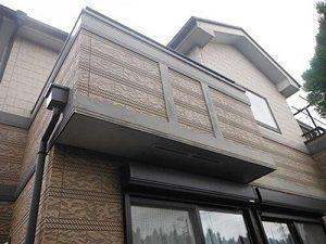 「クリアー塗装で外壁をきれいに!屋根とバルコニーも同時に塗装(神奈川県三浦市)」のBefore写真