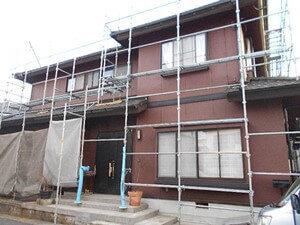 「塗膜の剥がれた外壁とバルコニー防水によって美しく塗装!(東京都目黒区)」のAfter写真