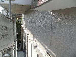 「黒ずんだ外壁とボロボロの破風板を再塗装!防水性を取り戻した事例(神奈川県座間市)」のAfter写真