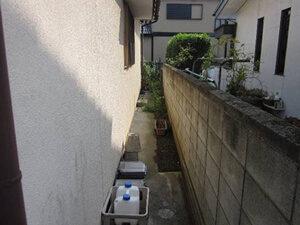 「新築時から10年が経過した住宅を塗り替え!モルタル風サイディング外壁の塗装(神奈川県海老名市)」のBefore写真